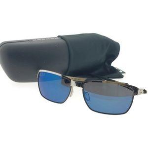 Oo4083-04 Tinfoil Men's Chrome Frame Sunglasses